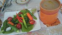 麻生区 新百合ケ丘に出張シェフ。海外転勤のお祝い・フェアウェルパーティー。ご自宅でシェフの料理をご提供:旬の野菜のバーニャカウダ