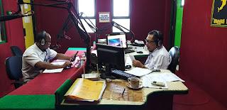 PDAM Kotabaru Lakukan Sosialisasi Pendistribusian Air Melalui Radio