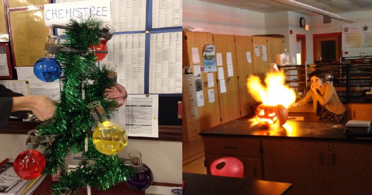 16 Inspiring Photos Prove That Teachers Can Have A Great Sense Of Humor