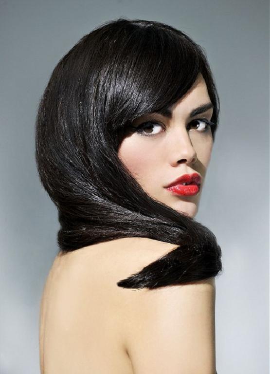 Más agudo peinados pelo negro Fotos de cortes de pelo Consejos - 15 grandes cortes de pelo largo negro ~ Peinados para ...