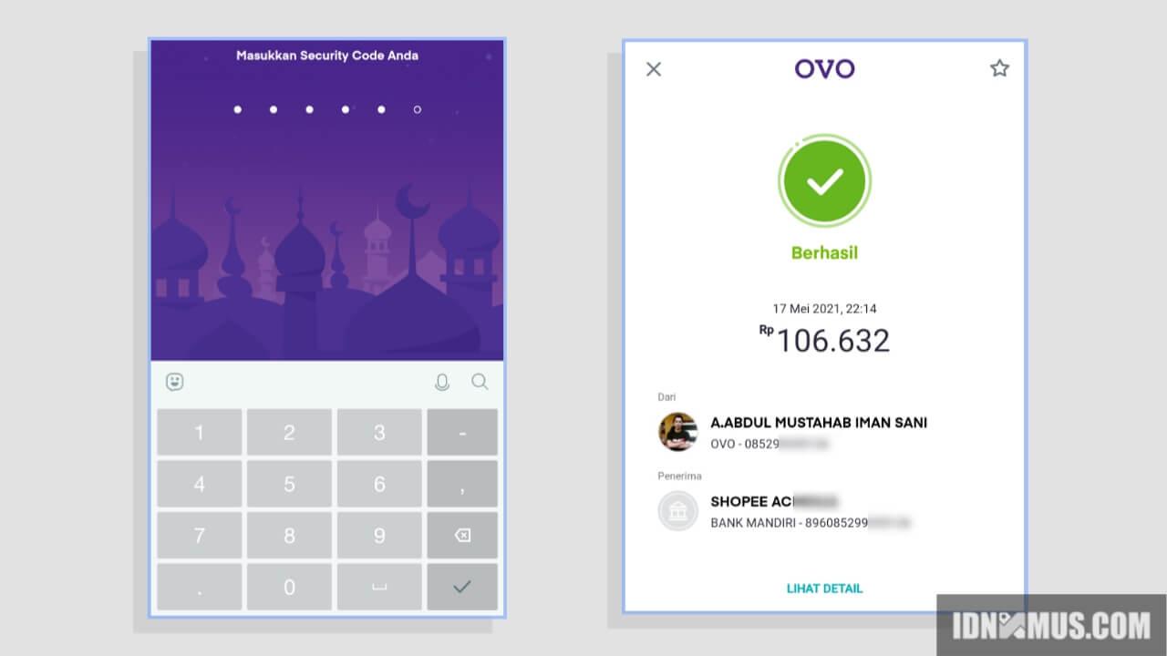 Cara Bayar Shopee melalui OVO