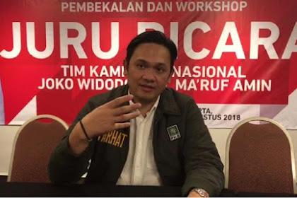 Kena Deh! Farhat Abbas Dinonaktifkan sebagai Juru Bicara TKN Jokowi-Ma'ruf Amin