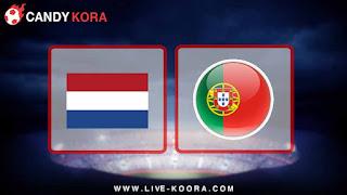 موعد مباراة البرتغال وهولندا اليوم 26-3-2018 مباراة ودية