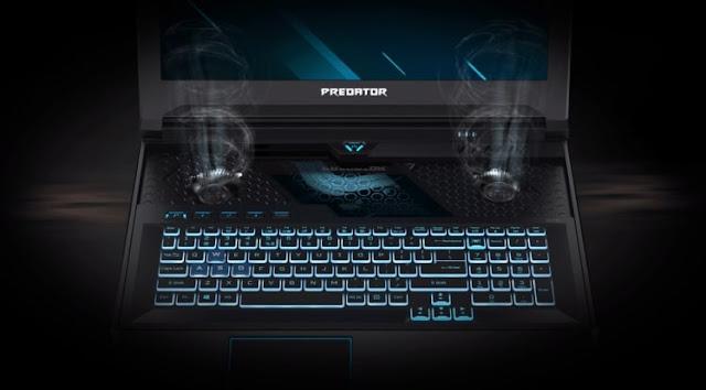 Acer Predator Helios 700 dengan Keyboard Slide dan RTX 2080