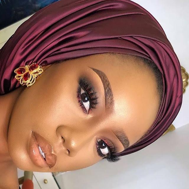 2019 Latest and Lovely Makeup Styles for Dark Skinned Women