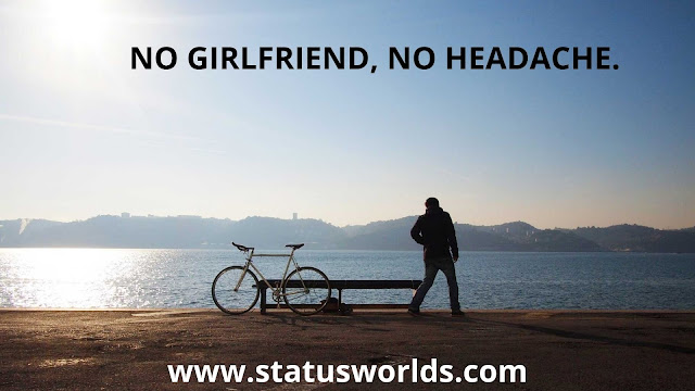 Being Single Status and Quotes