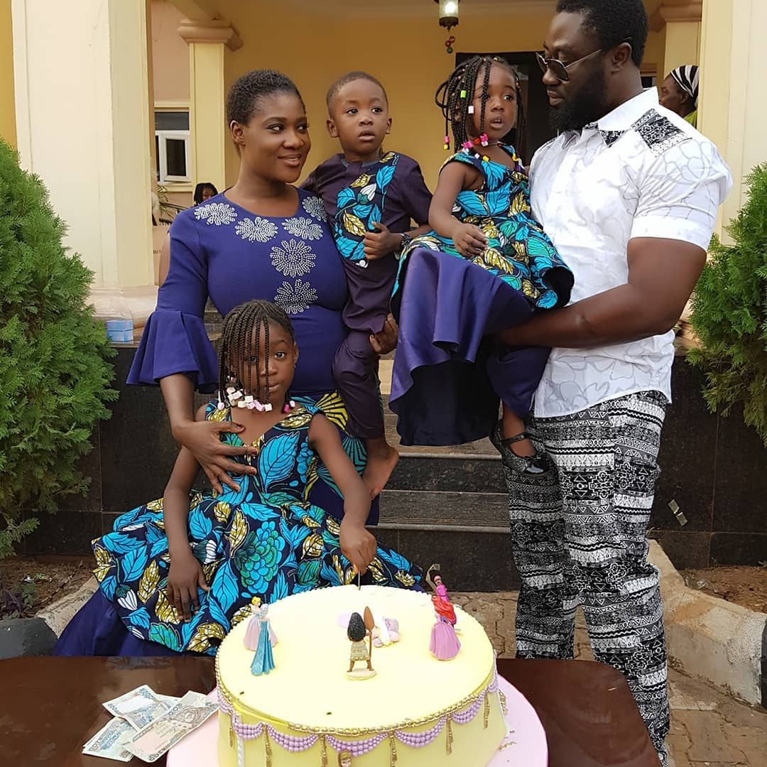 Nollywood actress mercy johnson celebrates her first daughter purity as she turns 5 to mark the special day the actress and husband prince odi threw a