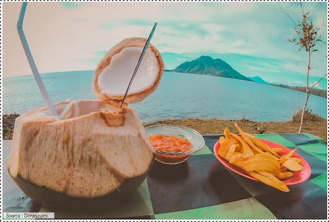 Makanan khas di Ternate di tempat wisata