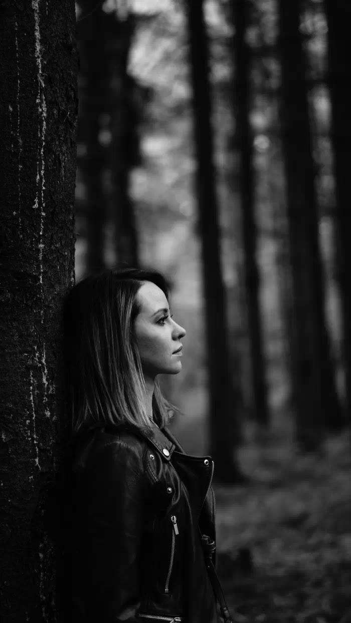 в черно-белых фотографиях