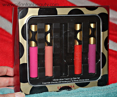 Sephora Collection Minnie Mouse Minnie-ature Cream Lip Stain Set.