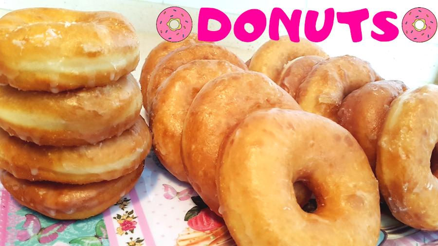 como hacer donuts caseros