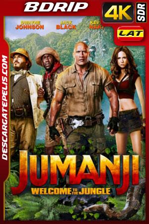 Jumanji: Bienvenidos a la jungla (2017) 4K BDRip SDR Latino – Ingles
