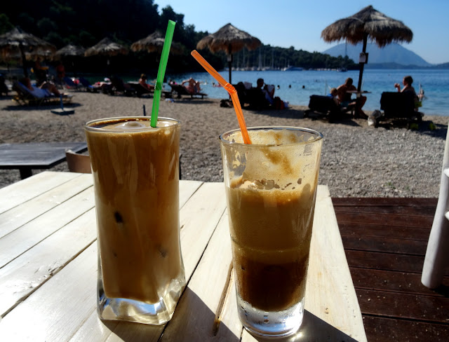 Greek Frappe Agrios Beach Bar Spilia