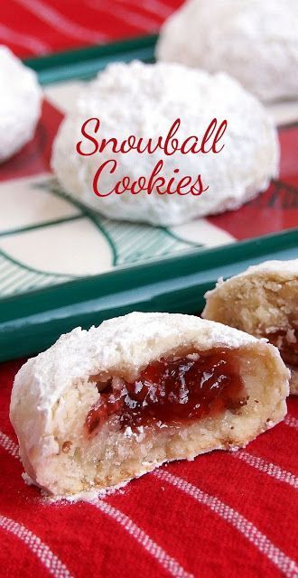 Best Filled Snowball Cookies