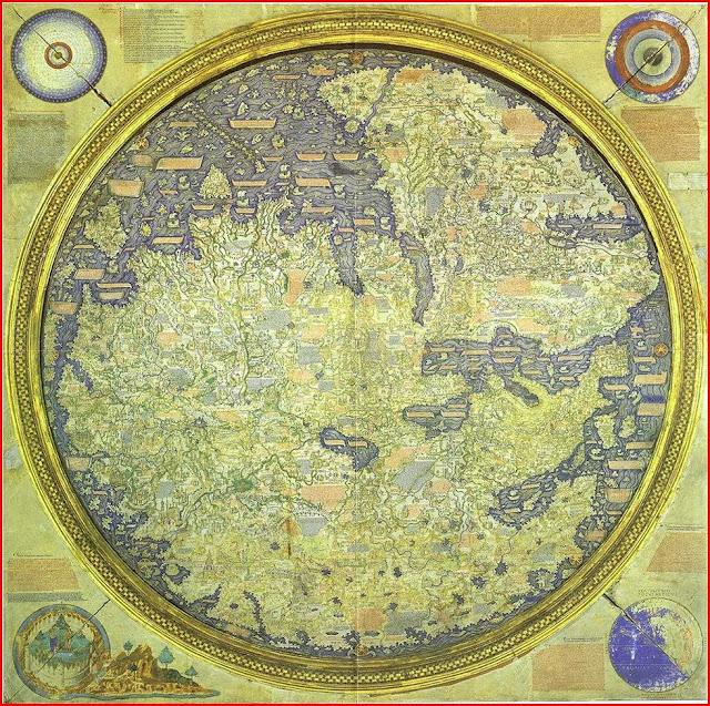 Gambar Peta Fra Mauro