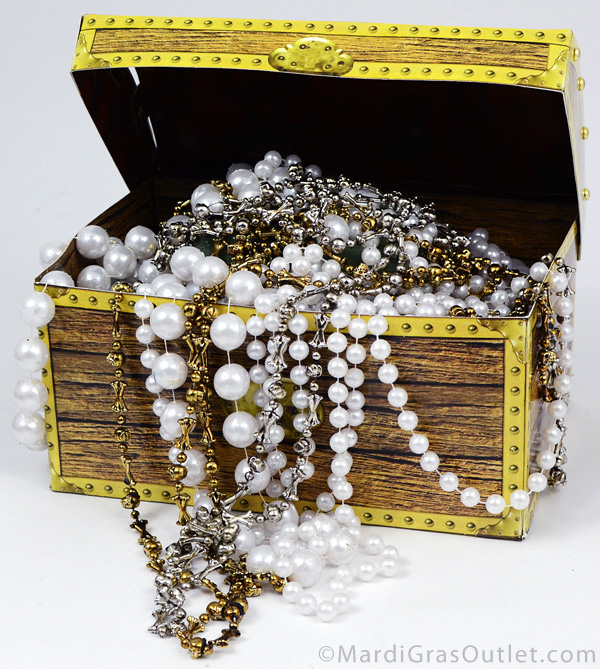 Pleasing Party Ideas By Mardi Gras Outlet Pirate Treasure Chest Home Interior And Landscaping Ologienasavecom