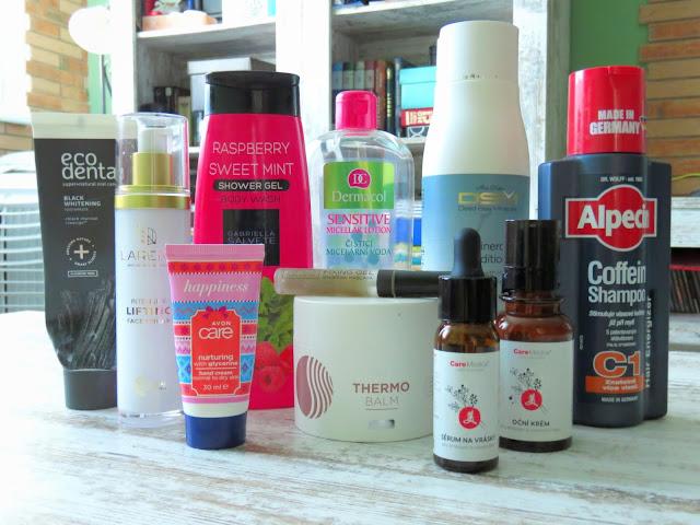 Spotrebovana kozmetika august recenzie
