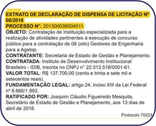 Edital Concurso AGETOP-GO 2018