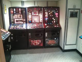 Mini kaszinó a hajón