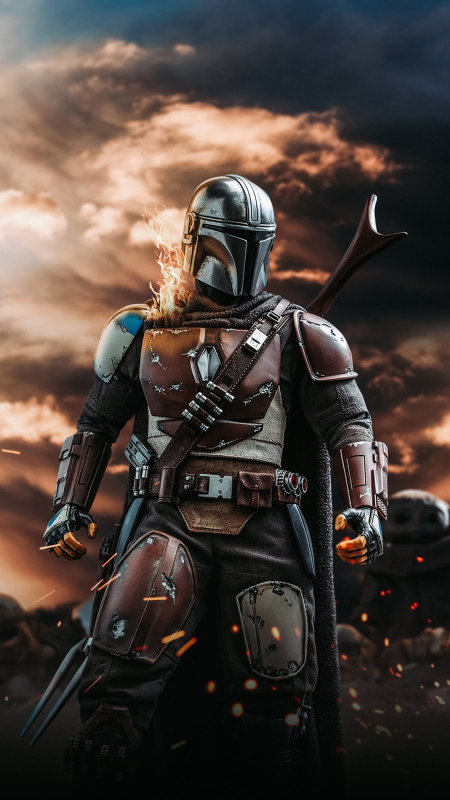 The Mandalorian Background Wallpapers Heroscreen Cool Wallpapers