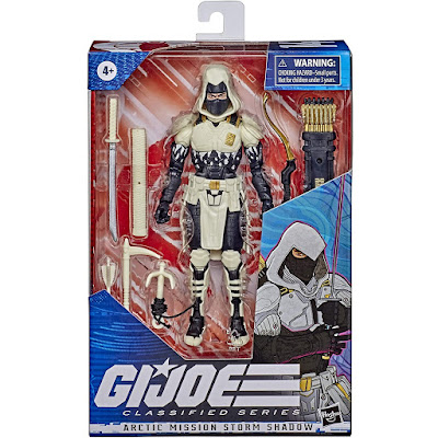 Amazon Exclusive G.I. Joe Classified Series Arctic Mission Storm Shadow Action Figure