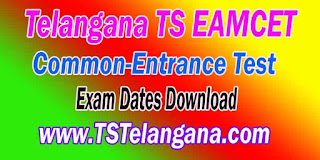 Telangana TS EAMCET TSEAMCET 2017 Exam Dates Download
