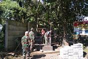 DAN SSK Pantau Langsung Kegiatan Dilokasi TMMD ke 111 Wilayah Kumersot