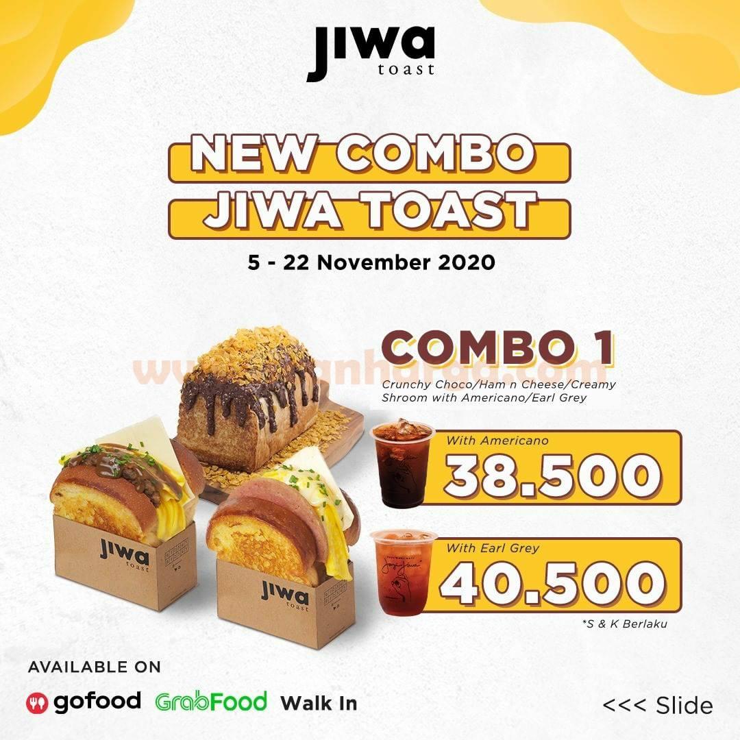 Promo Jiwa Toast Paket New Combo harga mulai Rp 38.500,-