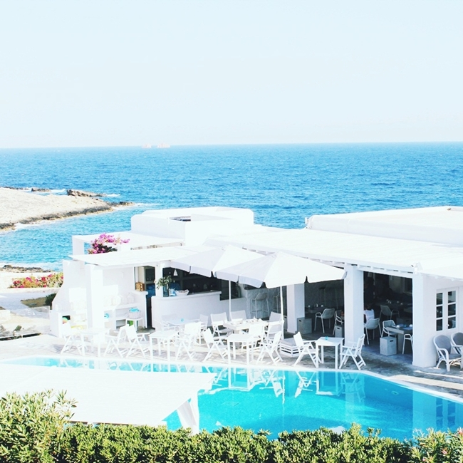 Minois village hotel & spa,Superior sea view suite,Paros island