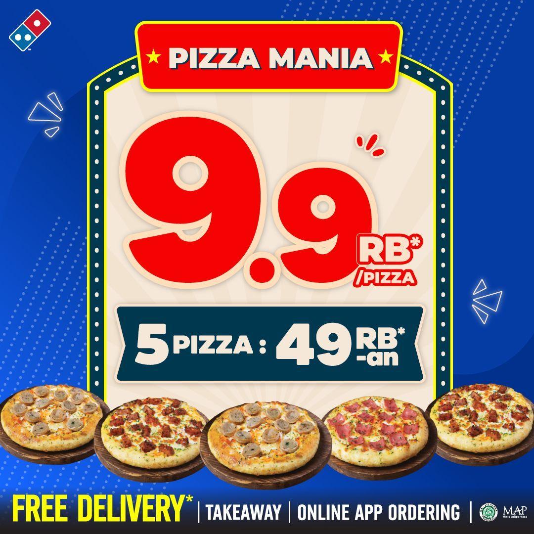 Promo Dominos Pizza Terbaru September 2021