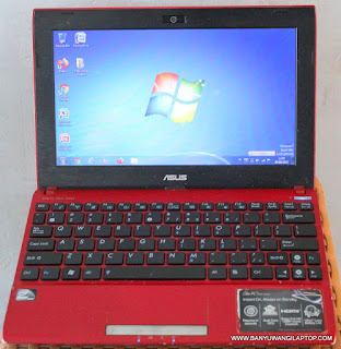 Jual Notebook Asus Eee PC-1025C Bekas Banyuwangi