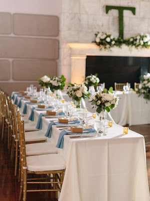 isleworth country club reception table decor