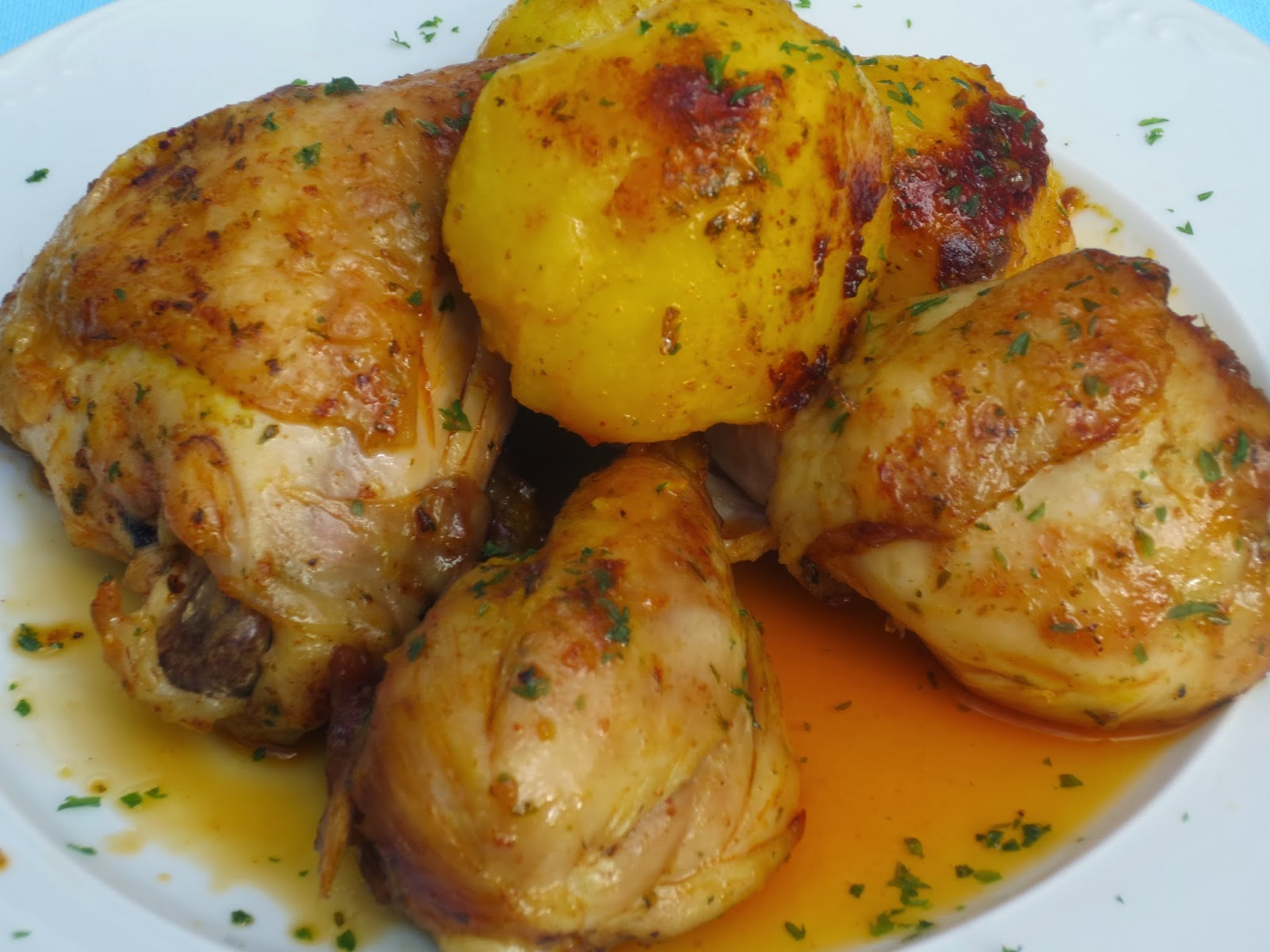 Pollo marroquí olla GM Ana Sevilla