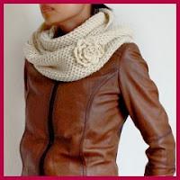 Cuello bufanda a crochet