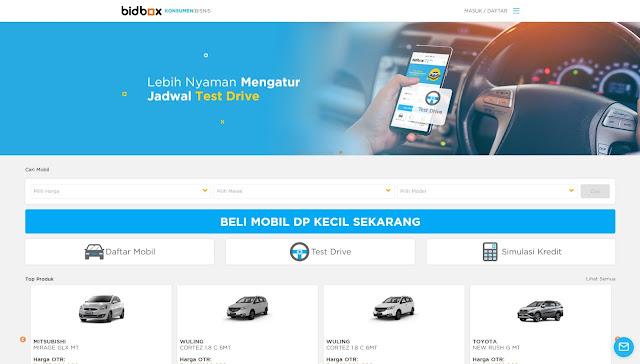 Ingin kredit mobil dengan harga murah? Bidbox!