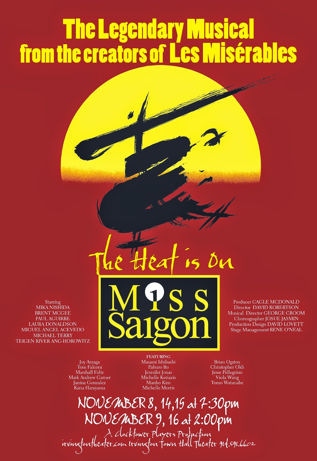 Solange On Theater Back To Saigon