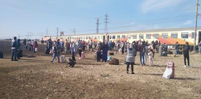 Vidéo- Des voyageurs surpris par l'arrêt de leur train près de Berrchid et attendent plus de deux heures la réaction de l'ONCF