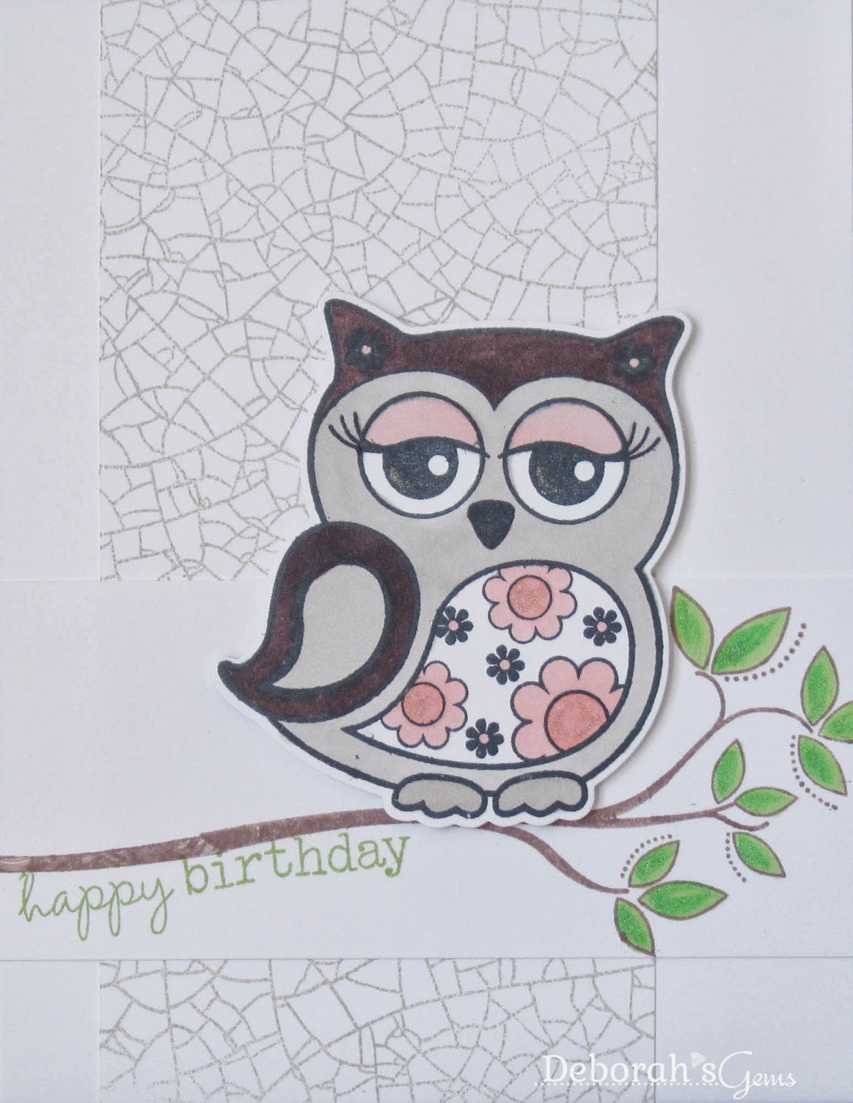 Owl Birthday - photo by Deborah Frings - Deborah's Gems