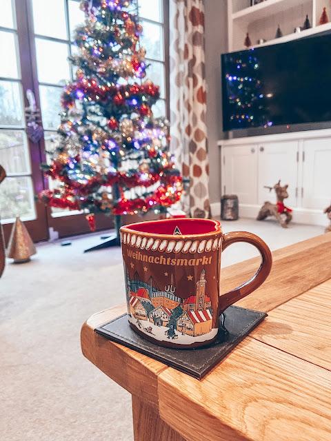 Christmas mug and tree