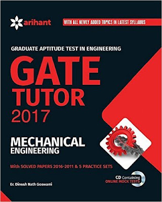 Download Free Arihant Gate Tutor 2017 Mechanical Engineering Book PDF
