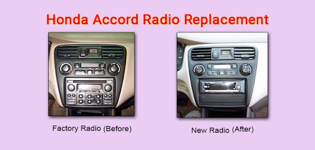 Honda Accord Stereo Replacement