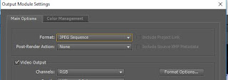 Exporting Videos into Picture in After Effects
