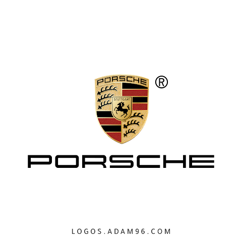 Download Logo Porsche PNG - Free Vector
