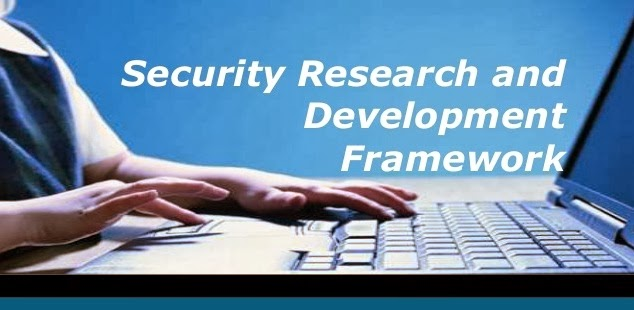 SRDF - Security Research and Development Framework