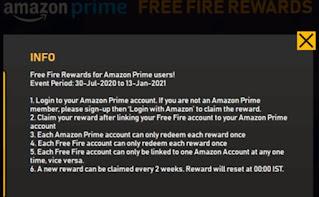 Garena Free Fire Prime Https Prime FF Garena Com