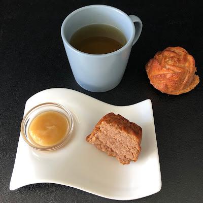 Gâteaux simplissimes à la compote de pomme et à la châtaigne