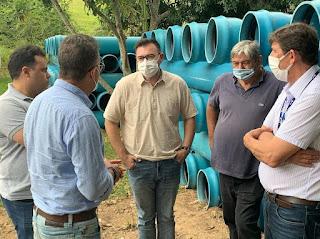 Raniery Paulino quer diagnóstico, elaboração de projeto e ações de coleta e tratamento de esgoto em Guarabira.
