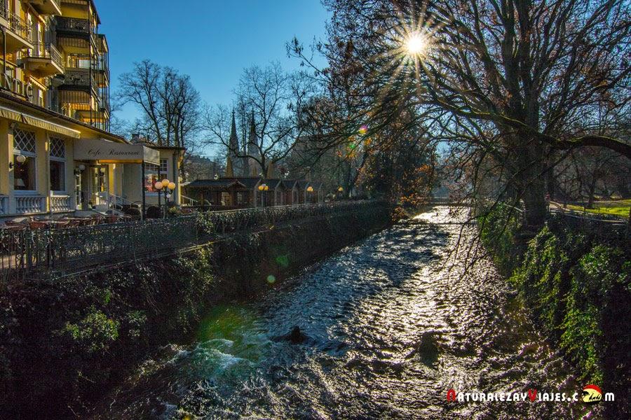 Río Oos, Baden Baden