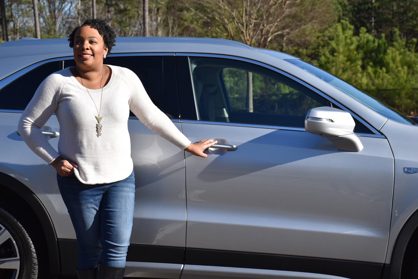 2020 Cadillac XT4 Side Door with Light Handles