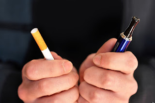 In the promotion of electronic cigarettes, Britain's leading the world